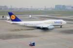 485k60さんが、羽田空港で撮影したルフトハンザドイツ航空 747-830の航空フォト(写真)