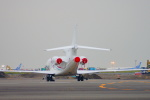 485k60さんが、羽田空港で撮影したフライング・サービス Falcon 7Xの航空フォト(写真)