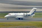 485k60さんが、羽田空港で撮影したエグゼジェット・オーストラリア CL-600-2B16 Challenger 604の航空フォト(飛行機 写真・画像)