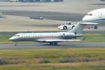 485k60さんが、羽田空港で撮影したビスタジェット BD-700-1A10 Global 6000の航空フォト(飛行機 写真・画像)