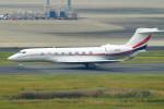 485k60さんが、羽田空港で撮影したWarbler I LLC G650ER (G-VI)の航空フォト(飛行機 写真・画像)