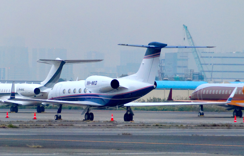 485k60さんのCML Aviation Gulfstream Aerospace G350/G450 (G-IV) (VH-NKD) 航空フォト