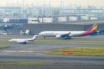 485k60さんが、羽田空港で撮影したアシアナ航空 A330-323Xの航空フォト(飛行機 写真・画像)