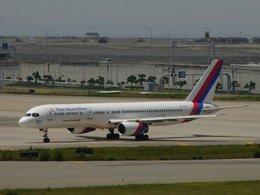 はれいろさんが、関西国際空港で撮影したロイヤル・ネパール航空 757-2F8Cの航空フォト(飛行機 写真・画像)