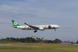 気分屋さんが、成田国際空港で撮影したエバー航空 A330-302Xの航空フォト(写真)