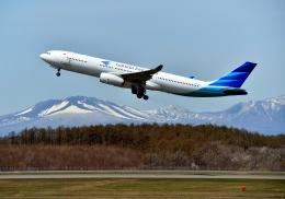 Cygnus00さんが、新千歳空港で撮影したガルーダ・インドネシア航空 A330-343Xの航空フォト(写真)