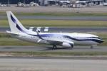 ズイズイさんが、羽田空港で撮影したオレンエア 737-85Pの航空フォト(写真)