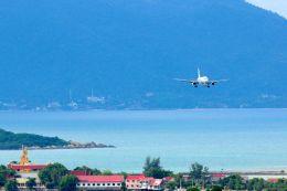 まいけるさんが、サムイ国際空港で撮影したバンコクエアウェイズ A319-132の航空フォト(写真)