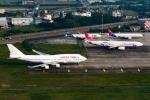 うまやどのおいるさんが、台湾桃園国際空港で撮影したオリエント・タイ航空 747-441の航空フォト(写真)