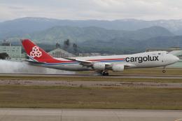KORYO204さんが、小松空港で撮影したカーゴルクス 747-8R7F/SCDの航空フォト(飛行機 写真・画像)