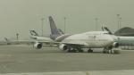 レックスさんが、香港国際空港で撮影したタイ国際航空 747-4D7の航空フォト(写真)