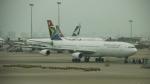 レックスさんが、香港国際空港で撮影した南アフリカ航空 A340-313Xの航空フォト(写真)