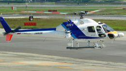 Chikaの航空見聞録さんが、伊丹空港で撮影したオールニッポンヘリコプター AS355F2 Ecureuil 2の航空フォト(飛行機 写真・画像)