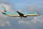 resocha747さんが、成田国際空港で撮影した大韓航空 737-9B5の航空フォト(写真)