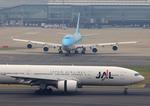 ふじいあきらさんが、羽田空港で撮影した大韓航空 747-4B5の航空フォト(写真)