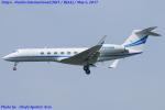 Chofu Spotter Ariaさんが、成田国際空港で撮影したウェルズ・ファーゴ・バンク・ノースウェスト G-V Gulfstream Vの航空フォト(飛行機 写真・画像)