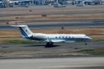 ハピネスさんが、羽田空港で撮影した海上保安庁 G-V Gulfstream Vの航空フォト(飛行機 写真・画像)