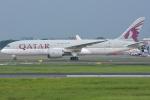 jun☆さんが、スカルノハッタ国際空港で撮影したカタール航空 787-8 Dreamlinerの航空フォト(写真)