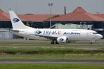 jun☆さんが、スカルノハッタ国際空港で撮影したトライエムジー イントラ アジア エアラインズ 737-33A(SF)の航空フォト(写真)