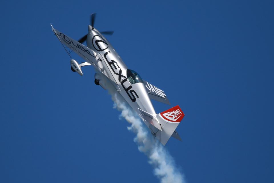 スカルショットさんのパスファインダー Extra EA-300 (JA111F) 航空フォト