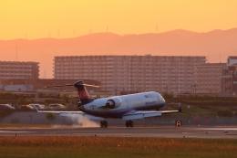 リクパパさんが、伊丹空港で撮影したアイベックスエアラインズ CL-600-2C10 Regional Jet CRJ-702の航空フォト(写真)