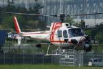 485k60さんが、東京ヘリポートで撮影した朝日航洋 AS350B3 Ecureuilの航空フォト(写真)