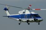 485k60さんが、東京ヘリポートで撮影した日本法人所有 S-76Cの航空フォト(写真)