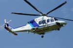 485k60さんが、東京ヘリポートで撮影したオールニッポンヘリコプター AW139の航空フォト(飛行機 写真・画像)