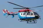 485k60さんが、東京ヘリポートで撮影した川崎市消防航空隊 BK117C-2の航空フォト(写真)