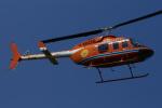485k60さんが、東京ヘリポートで撮影した新日本ヘリコプター 206L-3 LongRanger IIIの航空フォト(写真)