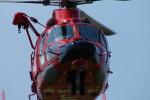 485k60さんが、東京ヘリポートで撮影した東京消防庁航空隊 AS365N3 Dauphin 2の航空フォト(写真)