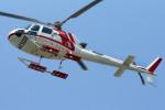 485k60さんが、東京ヘリポートで撮影した朝日航洋 AS350B3 Ecureuilの航空フォト(飛行機 写真・画像)
