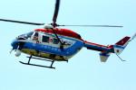 485k60さんが、東京ヘリポートで撮影した川崎市消防航空隊 BK117B-2の航空フォト(写真)