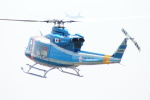485k60さんが、東京ヘリポートで撮影した警視庁 412EPの航空フォト(飛行機 写真・画像)