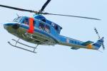 485k60さんが、東京ヘリポートで撮影した警視庁 412EPの航空フォト(写真)