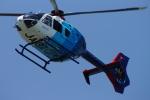 485k60さんが、東京ヘリポートで撮影した中日新聞社 EC135P2の航空フォト(写真)