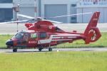 485k60さんが、東京ヘリポートで撮影した東京消防庁航空隊 AS365N2 Dauphin 2の航空フォト(飛行機 写真・画像)