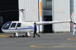 485k60さんが、東京ヘリポートで撮影したディーエイチシー R44の航空フォト(飛行機 写真・画像)