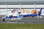 485k60さんが、東京ヘリポートで撮影した中日本航空 430の航空フォト(飛行機 写真・画像)