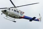 485k60さんが、東京ヘリポートで撮影した福島県消防防災航空隊 412EPの航空フォト(飛行機 写真・画像)