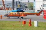 485k60さんが、東京ヘリポートで撮影した新日本ヘリコプター AS332L1 Super Pumaの航空フォト(飛行機 写真・画像)