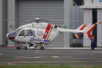 485k60さんが、東京ヘリポートで撮影した朝日航洋 BK117C-2の航空フォト(飛行機 写真・画像)
