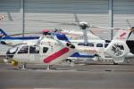 485k60さんが、東京ヘリポートで撮影した東邦航空 EC135T2の航空フォト(飛行機 写真・画像)