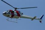 485k60さんが、東京ヘリポートで撮影した朝日航洋 AS350B Ecureuilの航空フォト(写真)