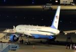 485k60さんが、羽田空港で撮影したアメリカ空軍 VC-32A (757-2G4)の航空フォト(写真)