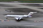 T.Sazenさんが、羽田空港で撮影したAvcon ジェット G500/G550 (G-V)の航空フォト(飛行機 写真・画像)