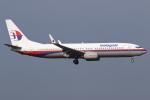 kinsanさんが、クアラルンプール国際空港で撮影したマレーシア航空 737-8FZの航空フォト(写真)