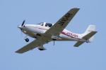 yabyanさんが、名古屋飛行場で撮影した学校法人ヒラタ学園 航空事業本部 SR20 Sの航空フォト(飛行機 写真・画像)