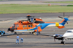 yabyanさんが、名古屋飛行場で撮影したティー・エム・シー・インターナショナル AS332L1 Super Pumaの航空フォト(写真)