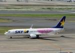 じーく。さんが、羽田空港で撮影したスカイマーク 737-86Nの航空フォト(飛行機 写真・画像)